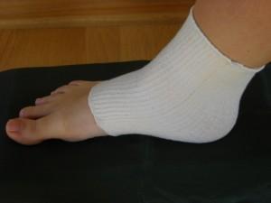 Stretchy Cotton Heel Sleeve